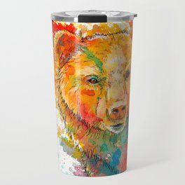 Ursa Major - bear painting Travel Mug