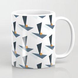 Modernistic Orange Coffee Mug