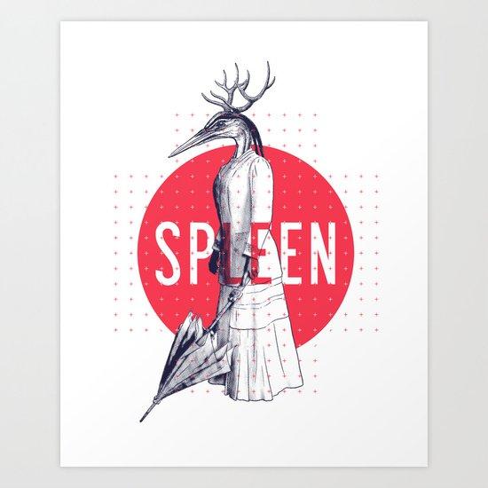 Spleen Art Print