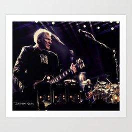 Rush - Snakes and Arrows Tour Art Print