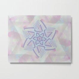 Star of David - 1 Metal Print