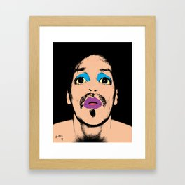 Blow-Up Brett. Now Available in XXL.   Framed Art Print