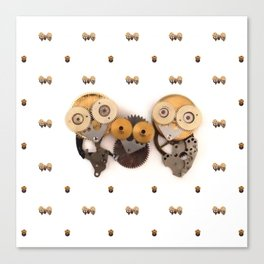Rad's Owlets Canvas Print