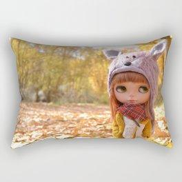 Honey - Autumn nature Rectangular Pillow