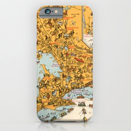 1929 Vintage Map of Ontario  iPhone Case