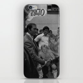 Rock n Roll Reunion - Vintage Collage iPhone Skin