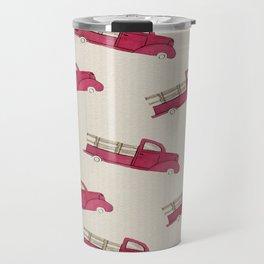 Old Red Truck Travel Mug