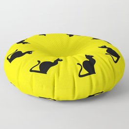 Angry Animals: Cat Floor Pillow