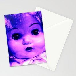 Empty Violet Stationery Cards