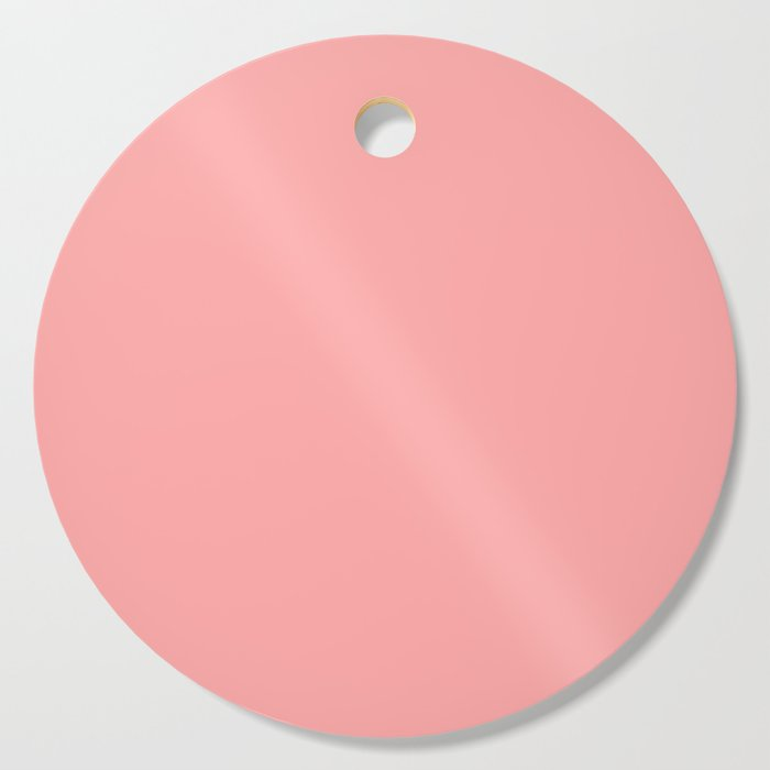 Coral Pink Cutting Board