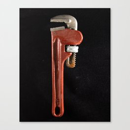 Pipe Wrench-1 Canvas Print