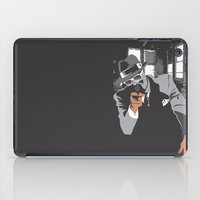 gangster iPad Cases featuring The Gangster by Dulevartiano