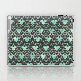 Mouse Ears Watercolor - Jasmine Mint Laptop & iPad Skin