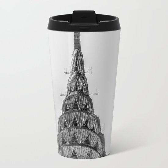NYC Peaks Metal Travel Mug
