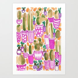 Sorority Plants Art Print