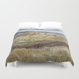 The HIlls are Alive with Color Duvet Cover