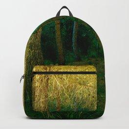 Magical forest landscape Backpack
