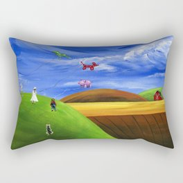 Hilly Helium Rectangular Pillow