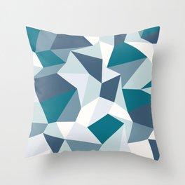 Angular Dimension Throw Pillow