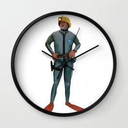 Life Aquatic with Steve Zissou Wall Clock
