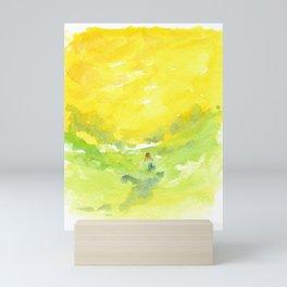 Walking in the Sun Mini Art Print