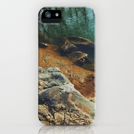 Orange Shore iPhone Case