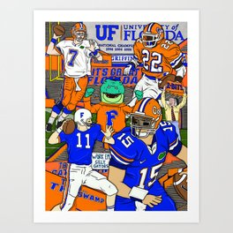 This Is The Swamp Art Print