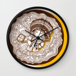 New dress for spring Wall Clock