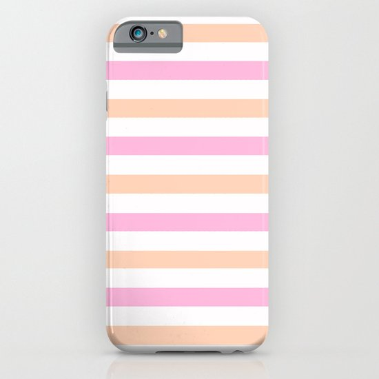 SHERBET STRIPES iPhone & iPod Case