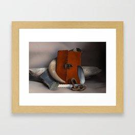 Rustic Still Life Framed Art Print