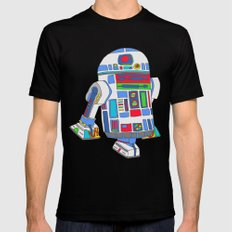 cool boys like epic droids Black Mens Fitted Tee MEDIUM