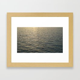 East River Flow Framed Art Print
