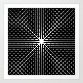 Energy Vibration 6. Frequency - Chladni - Cymatics Art Print