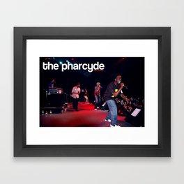 pharcyde live :::limited edition::: Framed Art Print