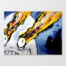 eyebeam guy Canvas Print