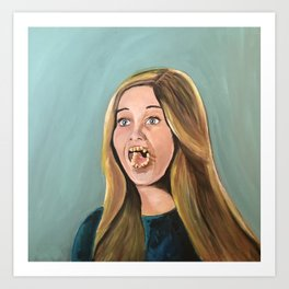 Mrs. Marcia Dentist Art Print