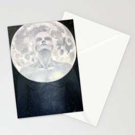 Moon Man Stationery Cards