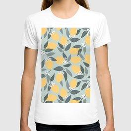 Blue Lemon Theme T-shirt
