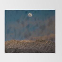 Colorado Moonrise Throw Blanket