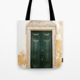 Old door in Tavira, Portugal Tote Bag