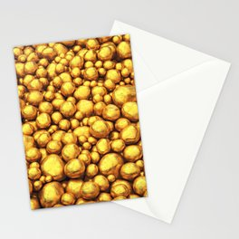Raw gold Stationery Cards