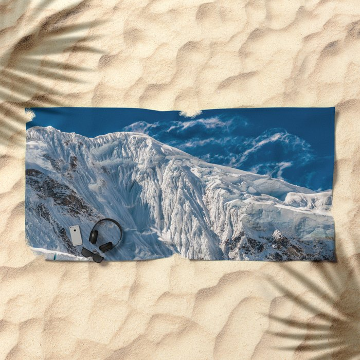 Mountain Between Us Beach Towel