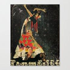 Dance. Illustration series. Canvas Print