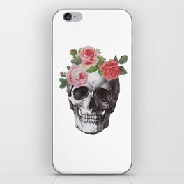 Skull & Roses iPhone Skin