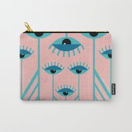 Unamused Eyes - Art Deco Carry-All Pouch