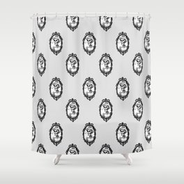 A Gentlewoman and a Spectre Shower Curtain