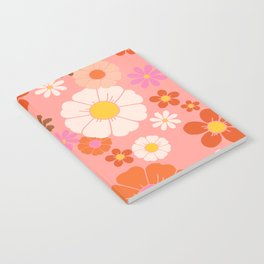 Groovy 60's Mod Flower Power Notebook