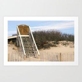 Beachfront Living Art Print