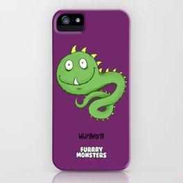 Whipilworm iPhone Case