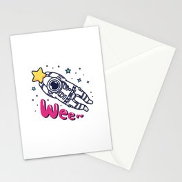 Catach a Shooting Star Stationery Cards